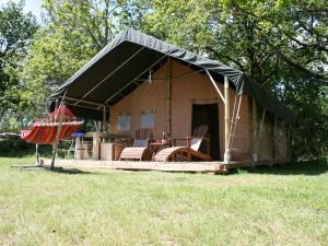 safaritent huren frankrijk, Safari tent rental in France