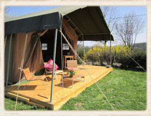 , Luxe tenten Frankrijk aan zee