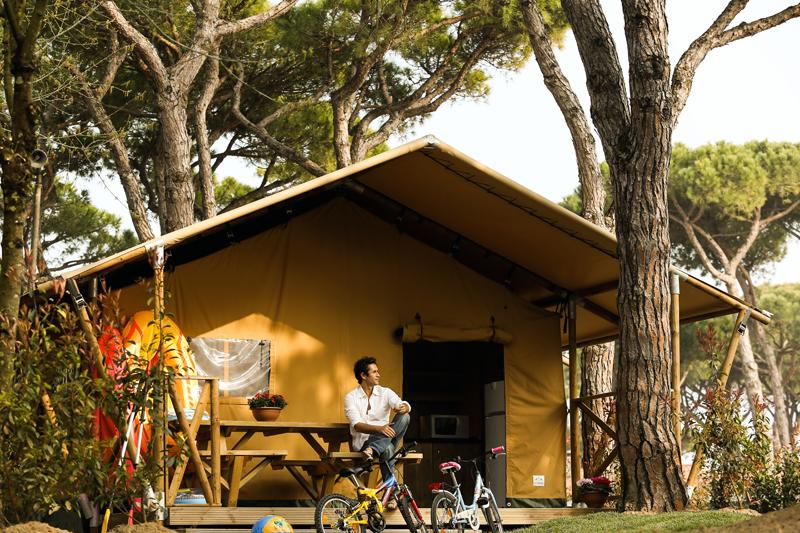 camping in italië, Kampeervakantie Italie