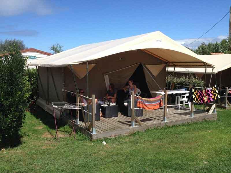 Glamping Camping Les Deux Vallées
