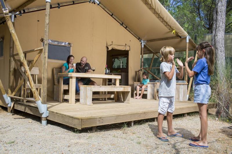 Glamping Glamping4all / Camping Punta Milà