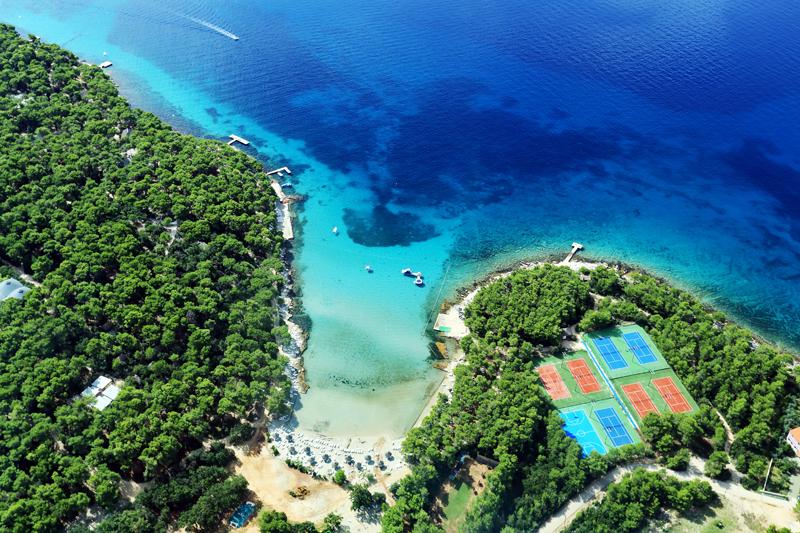 glamping strand kroatië, Glamping strand Kroatië