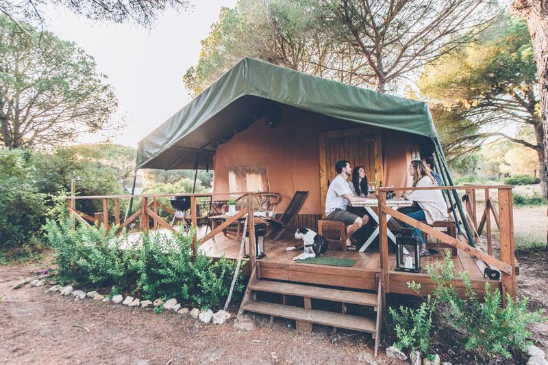 Safaritent Andalusië, Safaritent Andalusië