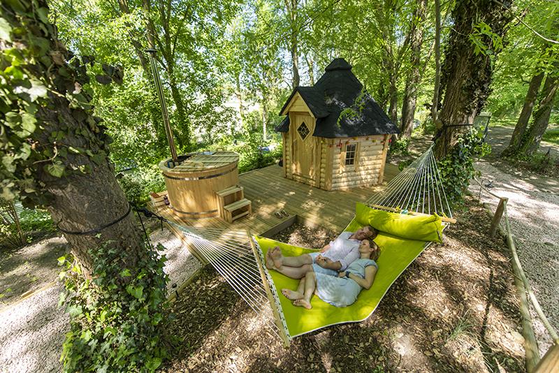 trekkershut huren, Trekkershut camping