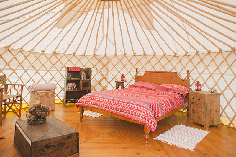 Glamping Quirky Camping Eco Yurt Hideaways