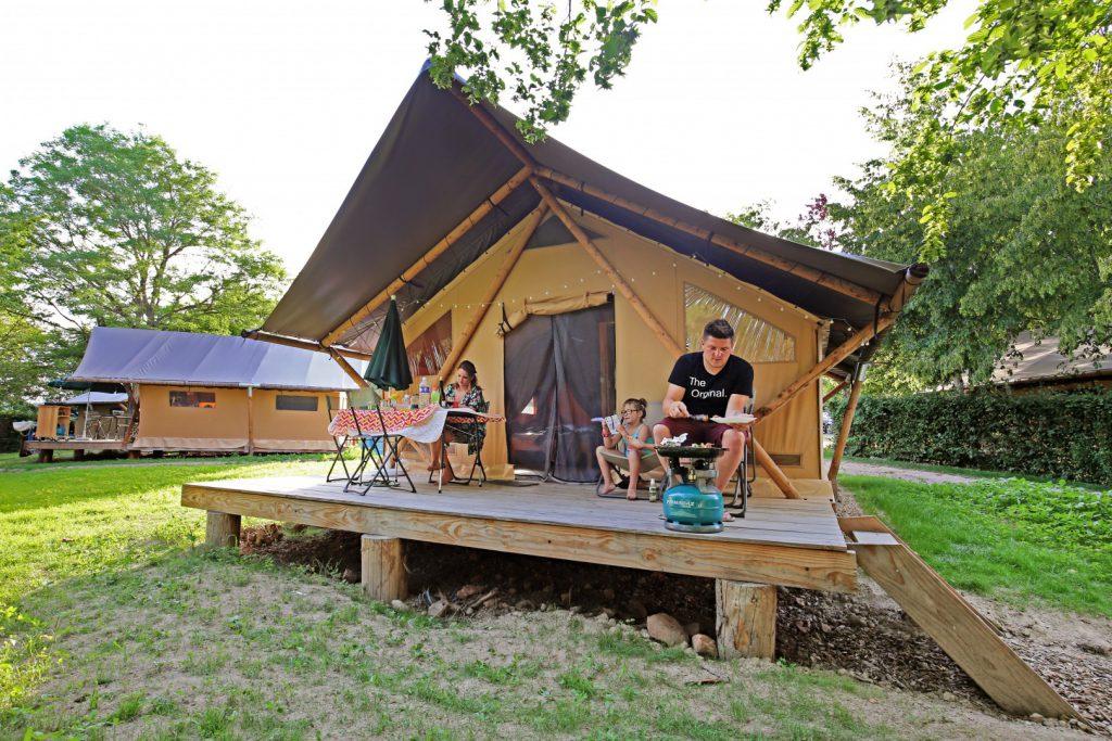 Glamping Camping Huttopia Etang de Fouché